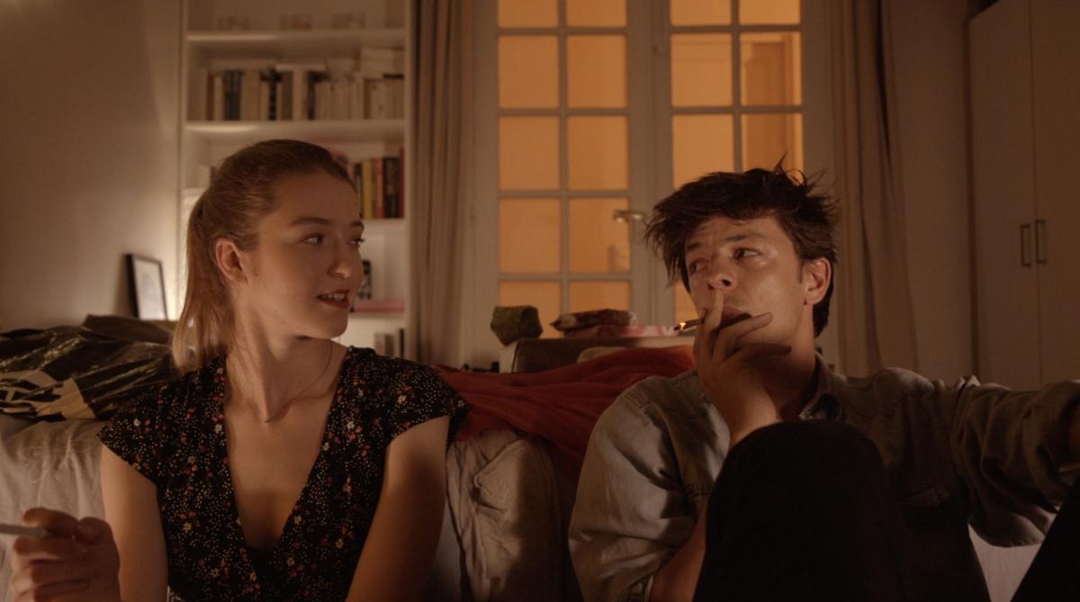 "Natalia Pujszo and Louis De Villers in ""Canicule"""