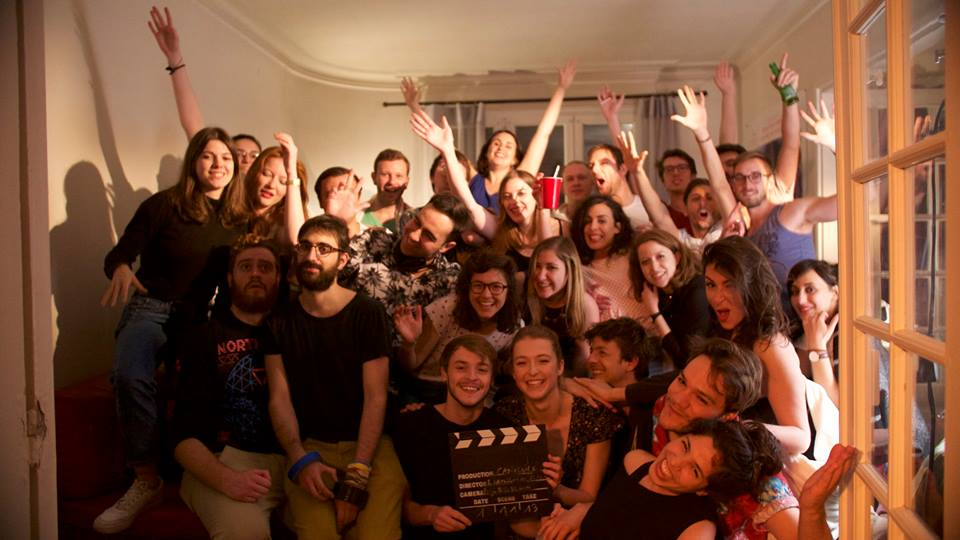 """The cast and crew of """"Canicule"""""""