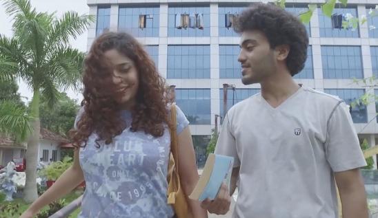 """Syju John and Ashish Shashidhar in """"Waft"""""""