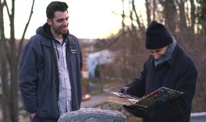 "ISA award-winning David Joseph Volino and Jerry Matz in ""Across the Graveyard"""