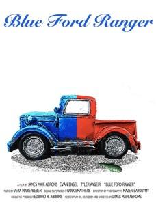 Blue Ford Ranger